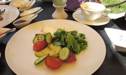 Frühstück im Canova