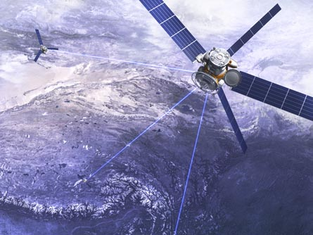 Satellitentechnologie kann die Planung der Radtour erleichtern... Grafik: Petrovich9