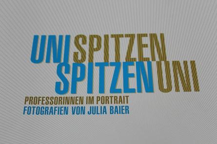 """Mit der Ausstellung """"Unispitzen - Spitzenuni"""" würdigt die Berliner Fotografin Julia Baier führende Professorinnen an der Bremer Uni. Die Fotoschau ist noch bis zum 14. August im """"Haus der Wissenschaft"""" zu sehen."""