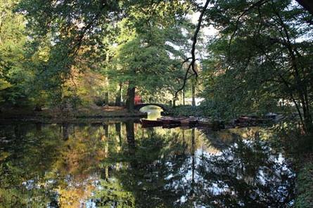 Mit einer Fläche von 203 Hektar das größte Naherholungsgebiet in Bremen: der Bürgerpark.