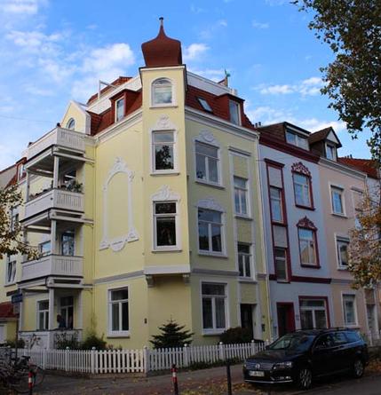 Die Altbremer Häuser in Findorff sind begehrte Immobilien.