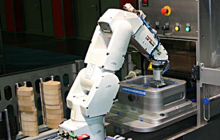 Roboter können bereits gefrorene Fischfilets verarbeiten (links in Form von Holzblöcken dargestellt), aber mit Rollmöpsen kommen sie noch nicht klar. Foto: ak