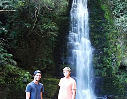 Der Bremer Armin (r.) verbrachte sechs Monate in Neuseeland – dabei durchreiste er zusammen mit einem Freund das gesamte Land im eigenen Pkw.