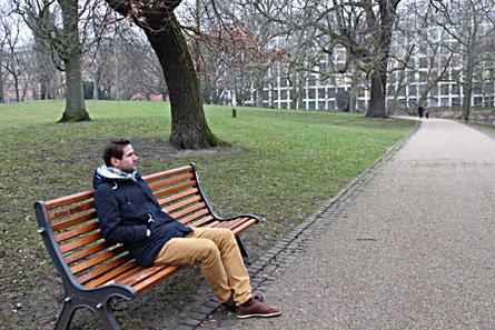 Sven ist Raumplaner bei einer Klima- und Energieagentur. Er mag seinen Job, lebt aber nicht mehr so spontan wie früher. Foto: Lohmann