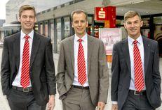 Drei neue Gesichter in der UniFiliale