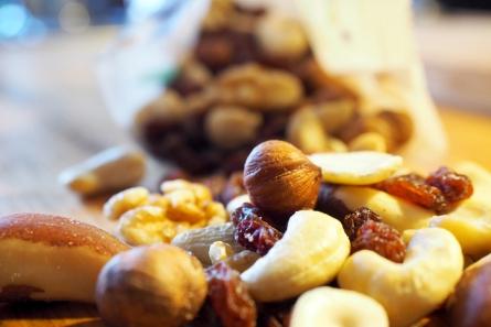 Der Snack für zwischendurch – statt einer Packung Kekse einfach zum Studentenfutter greifen. Das bringt garantiert nachhaltigere Energie fürs Lernen.