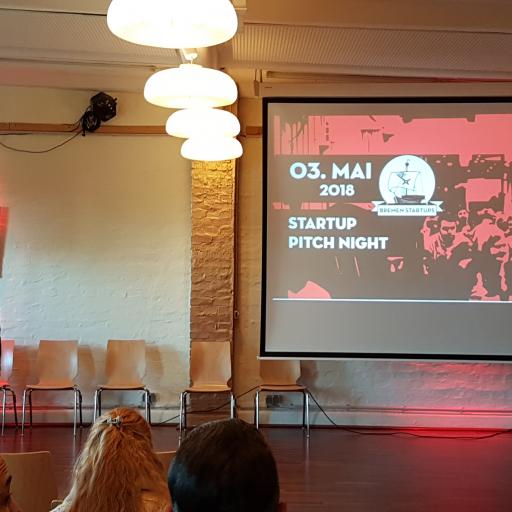 Bei der Open Pitch-Night haben Start-Ups die Möglichkeit, ihre Ideen innerhalb von sieben Minuten der Jury zu präsentieren.
