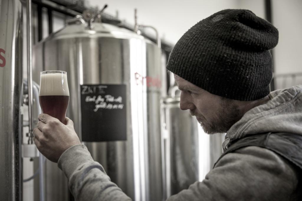 Tobias Grebhan wurde das Interesse für Bier sozusagen schon in die Wiege gelegt sein Vater arbeitete als Braumeister beim Großkonzern Becks.