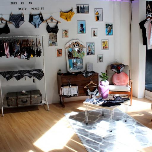 Der Store im Citylab erinnert eher an ein gemütliches Wohnzimmer (c) Tizz & Tonic