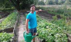 mitbremern FAB - Bei dem Projekt mitbremer können Geflüchtete sich ehrenamtlich einbringen und so ihre Sprachkenntnisse verbessern. (c) Freiwilligen-Agentur Bremen