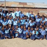 Die Schule, an der Dustin Pelzl unterrichtete, befindet sich in Ghanas Hauptstadt Accra. (c) Dustin Pelzl