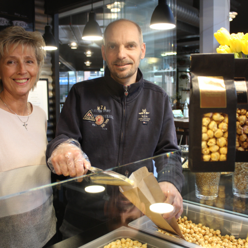 Thorsten Hobein entdeckte seine Leidenschaft für Popcorn während eines USA-Aufenthalts. (c) Insa Lohmann