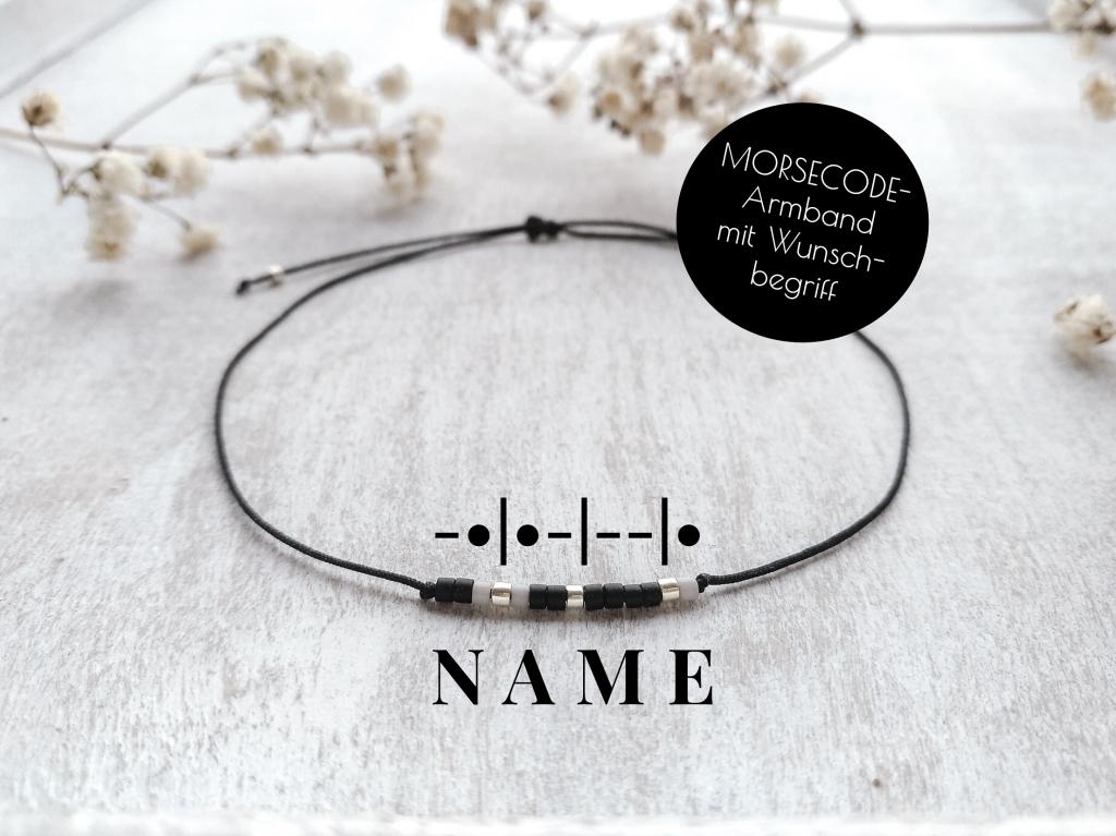 Morsecode-Armband